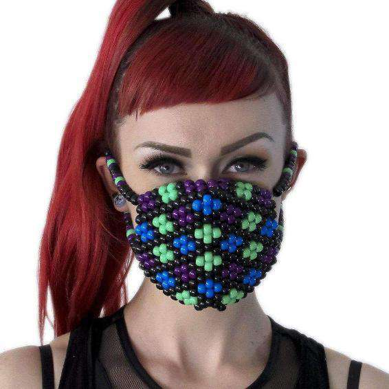 Flower Kandi Mask - Kandi Gear - 1