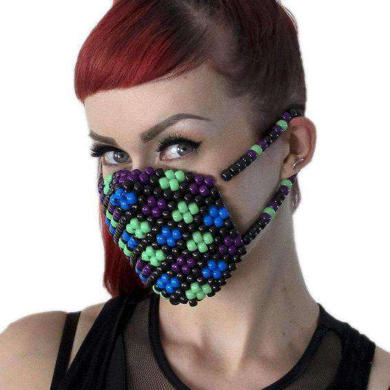 Flower Kandi Mask - Kandi Gear - 3
