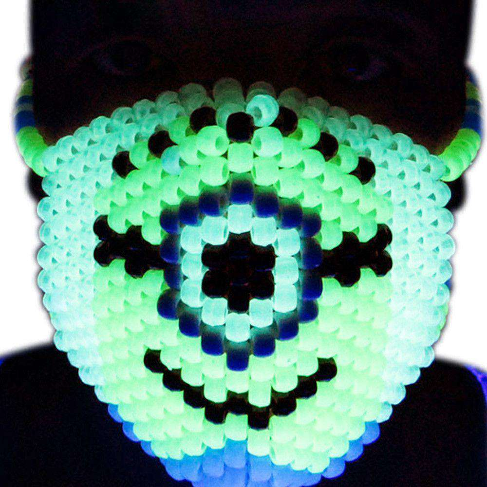Minions Glow In The Dark Kandi Mask - Kandi