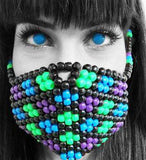Flower Kandi Mask - Kandi Gear - 2