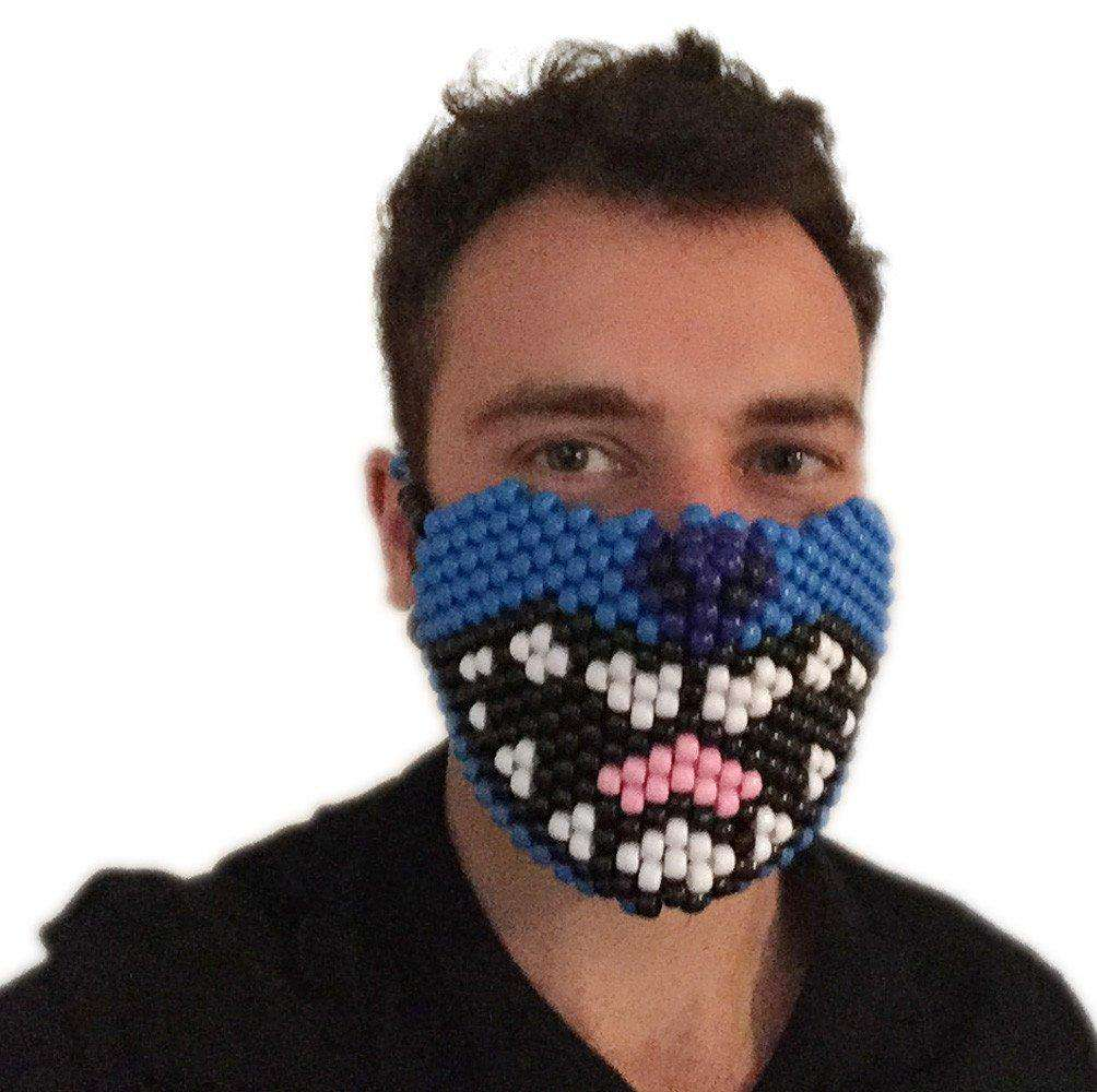 Lilo and Stitch Kandi Mask Full Rave Gear - Kandi Gear