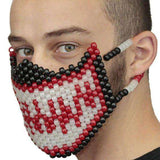 Glow In The Dark Red Venom Spiderman Full Kandi Mask - Kandi