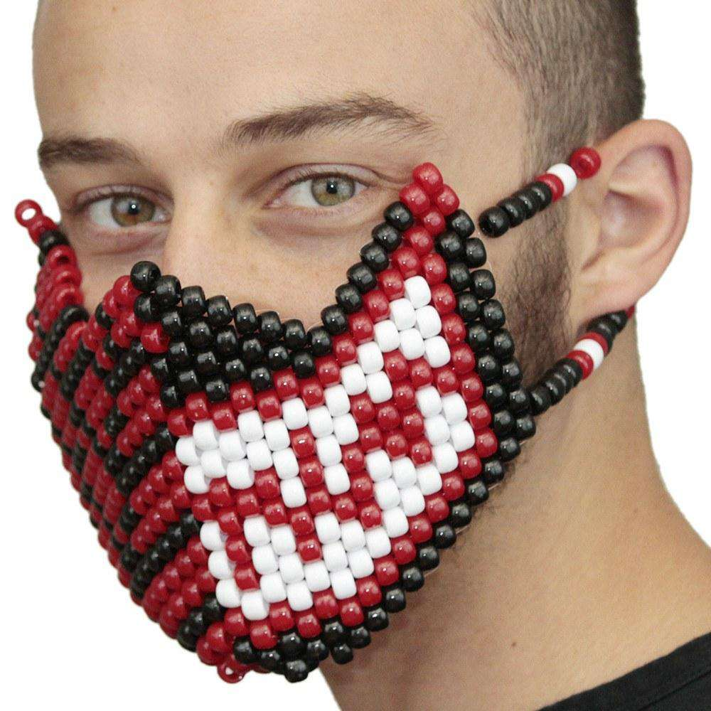 Spiderman Or Venom Full Kandi Mask - Kandi