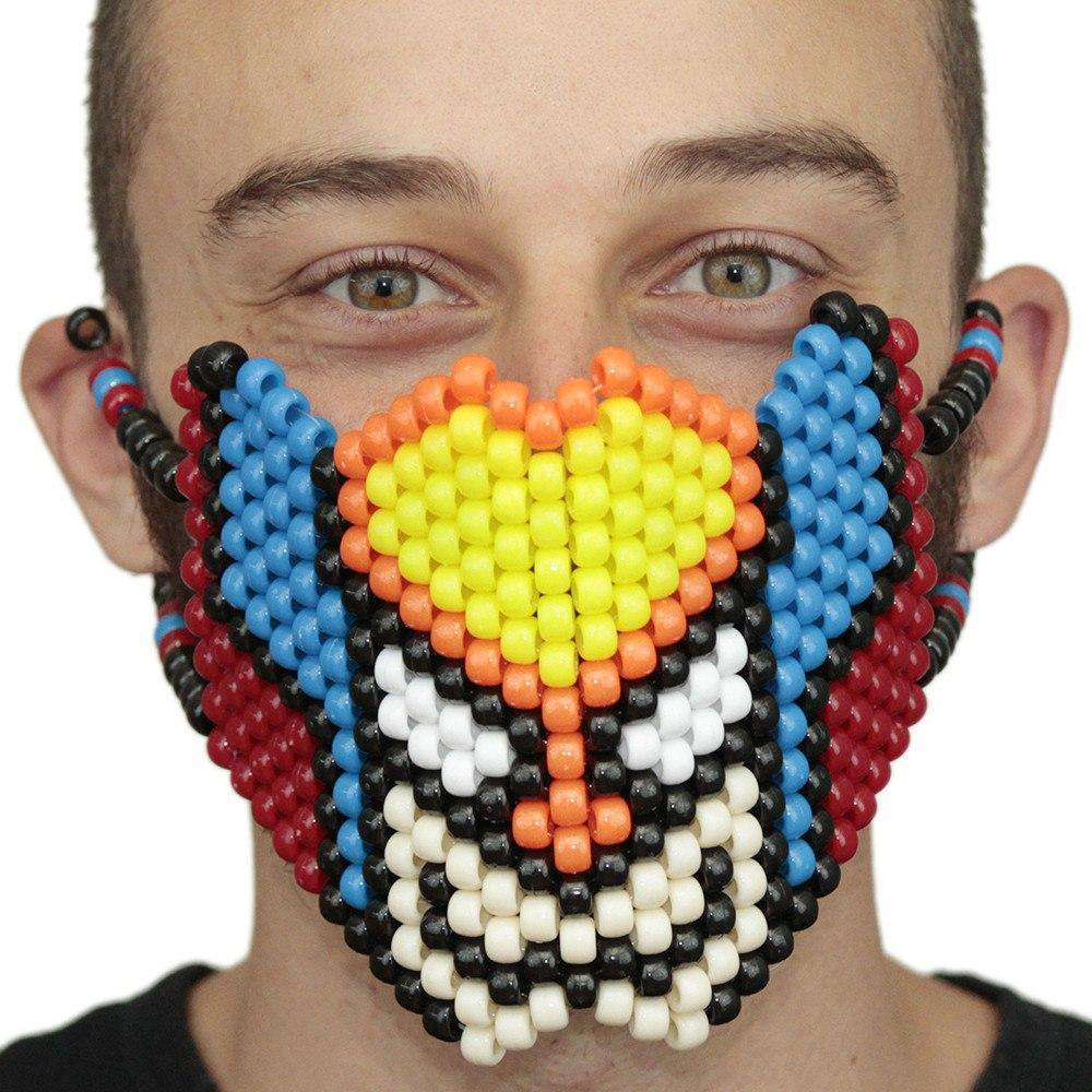 Wolverine Face Full Kandi Mask - Kandi Gear