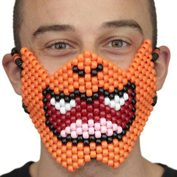 Charmander Pokemon Kandi Mask Full - Kandi Gear