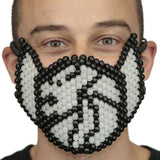 Seven Lions 7 Glow In The Dark Full Kandi Mask - Kandi