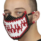 Venom Red and White Spiderman Full Kandi Mask - Kandi Gear