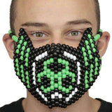 Biohazard Toxic Full Kandi Mask - Kandi Gear