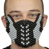 Captain America The Winter Soldier Kandi Mask Full - Kandi