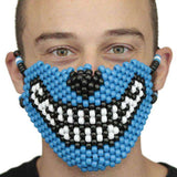 Blue Wolf Kandi Mask Full
