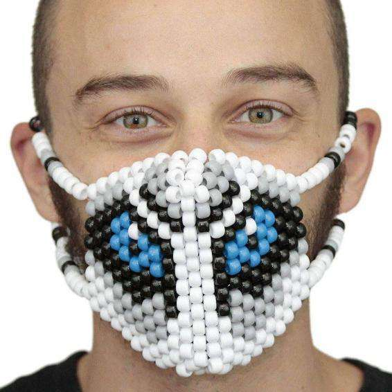 Big Bad Wolf Surgical Kandi Mask - Kandi Gear