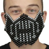 Silver Bane from Batman Kandi Mask Full - Kandi