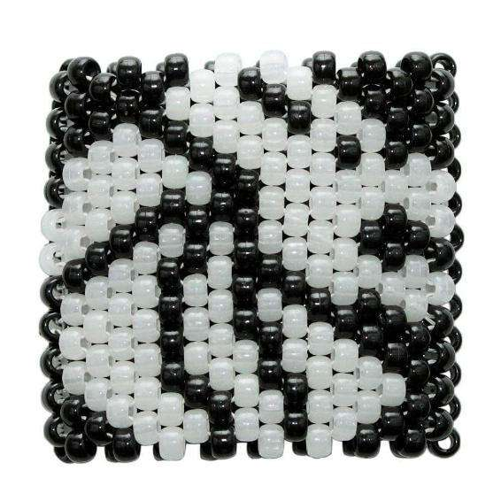 Glow In The Dark Seven Lions Kandi Cuff - Kandi Gear