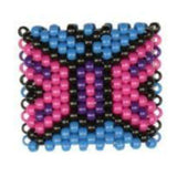 Beautiful Butterfly Kandi Cuff