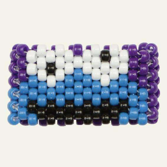 Cookie Monster Kandi Cuff - Kandi Gear