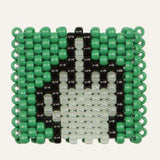Glow in the Dark Middle Finger Kandi Cuff - Kandi