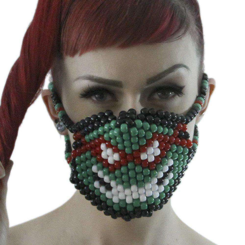 Raphael TMNT Ninja Turtles Surgical Kandi Mask - Kandi Gear