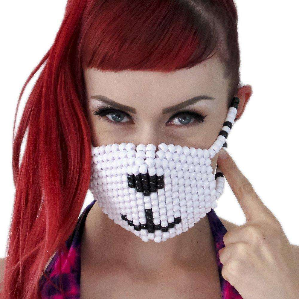 Polar Bear Kandi Mask - Kandi Gear