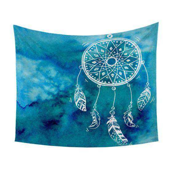 Dream Catcher Blue Tapestry - Kandi Gear