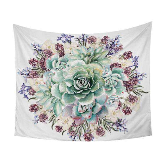 Flower Art Tapestry - Kandi Gear