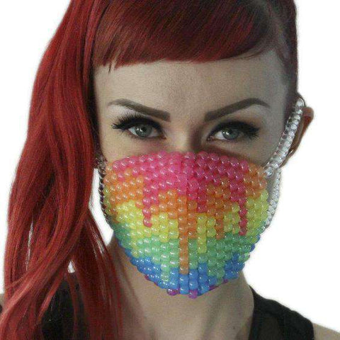 Brown Bear Surgical Kandi Mask