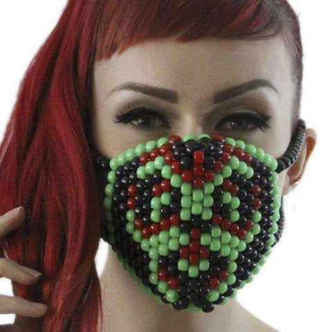 Cute Smiling Turtle Squirtel Pokemon Kandi Mask