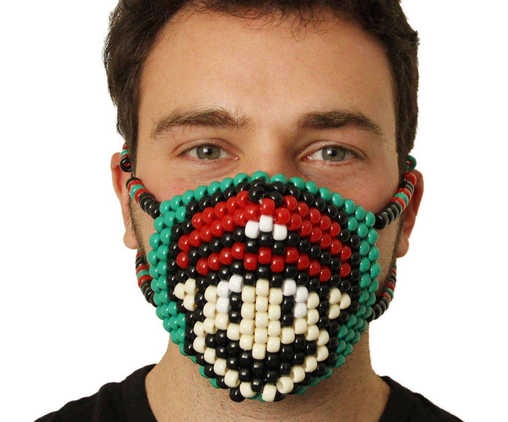 Super Mario Kandi Mask - Kandi Gear