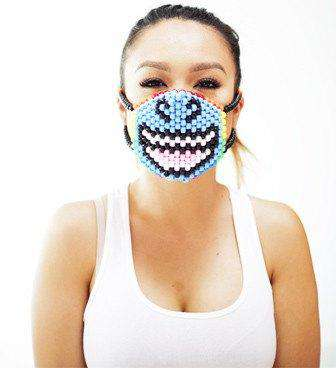 Smiling Unicorn Kandi Mask - Kandi Gear - 2