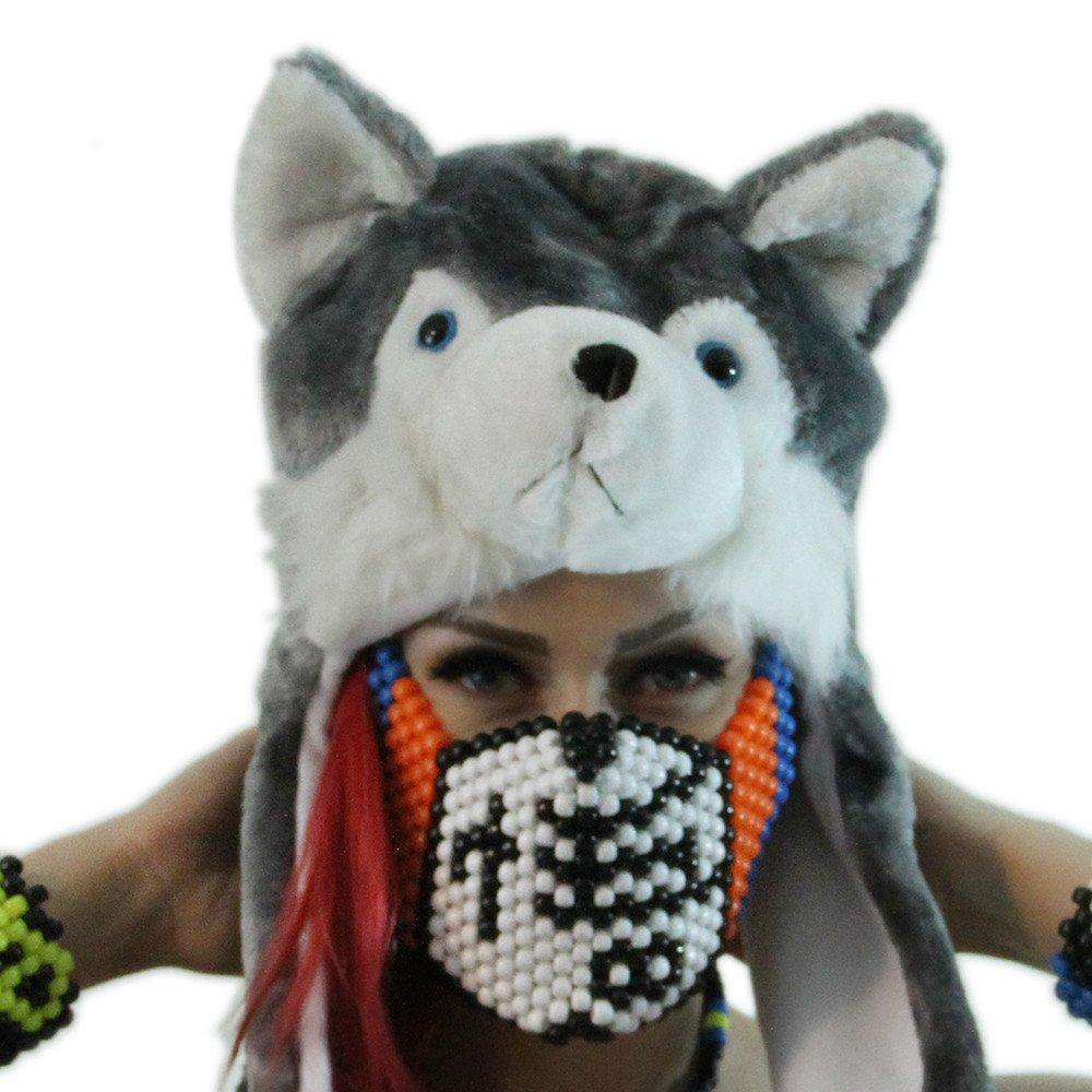 Dragon Ball Z Full Kandi Mask by Kandi Gear - Kandi