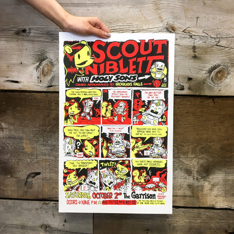 Scout Niblett Poster