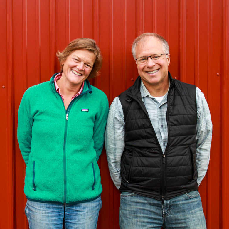 Vermont Creamery portrait of owners