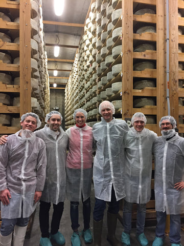 The Saxelby Cheese team