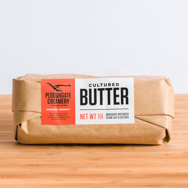 Ploughgate Creamery Cultured Butter, 1lb salted