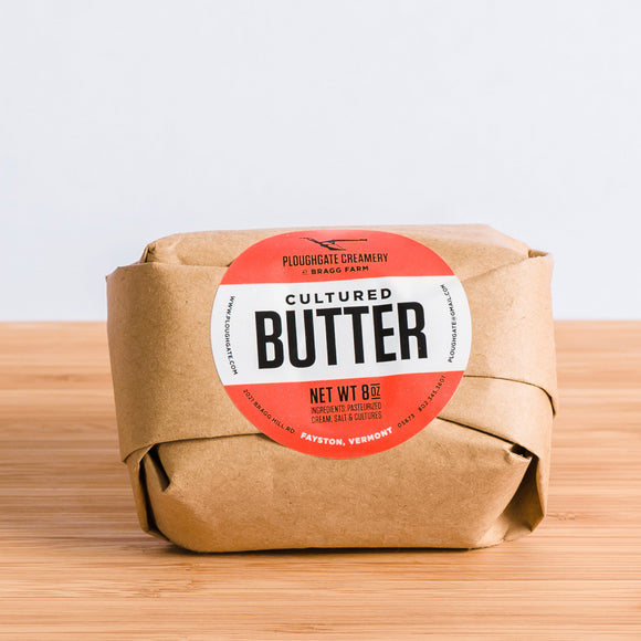 Ploughgate Creamery Cultured Butter, 8oz salted
