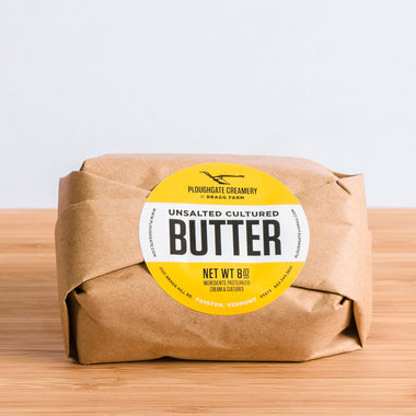 Ploughgate Creamery Cultured Butter, 8oz unsalted
