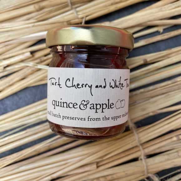 Quince and Apple Tart Cherry and White Tea Preserves
