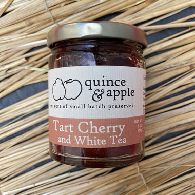 Quince & Apple Tart Cherry and White Tea Jam