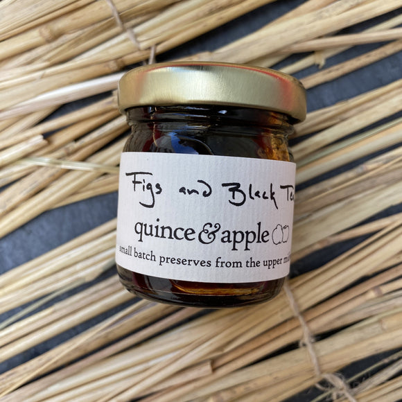 Quince and Apple Fig and Black Tea preserves