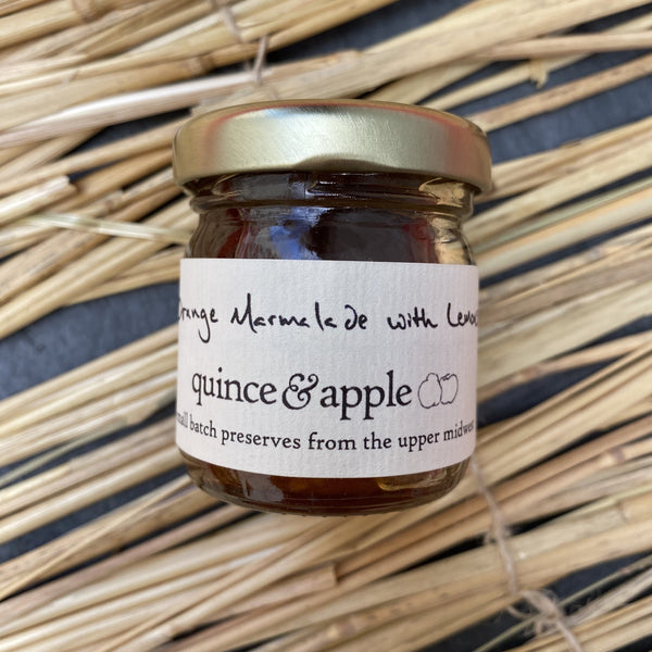 Quince and apple orange marmalade with lemons