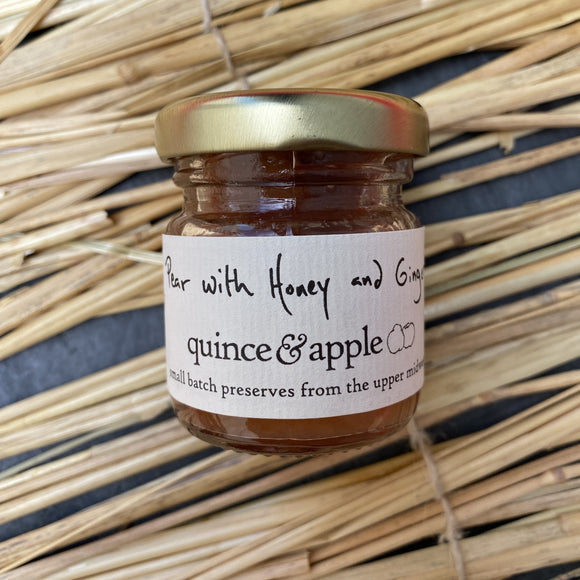 Quince and apple Pear with honey and ginger preserves, buy accompaniments and preserves for cheese boards online