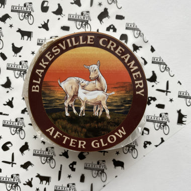 Afterglow - a creamy goat's milk cheese from Blakesville Creamery washed with New Glarus beer