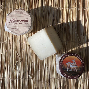 Blakesville Creamery Collection - a collection of three goat's milk cheeses from Blakesville Creamery in Wisconsin