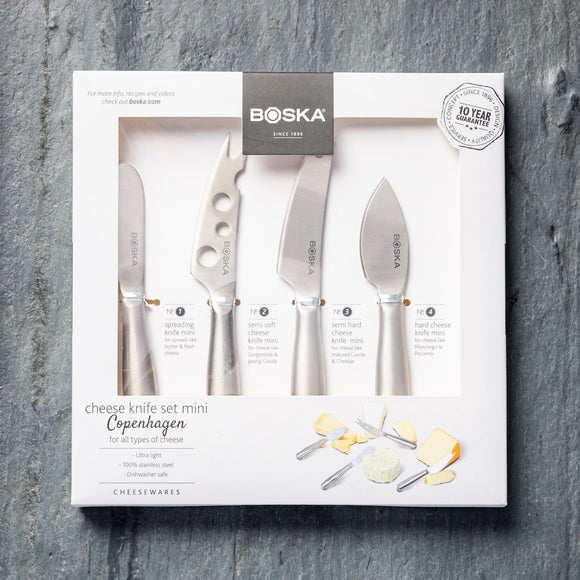 Boska Cheese Knife Set Copenhagen Mini