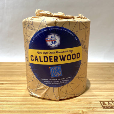 Calderwood heart - a cylinder of Calderwood wrapped in paper