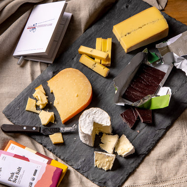 Saxelby Cheese and Raaka Chocolate Virtual Tasting