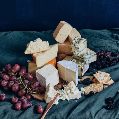 The Grey Barn and Farm Collection - three organic grass fed cheeses