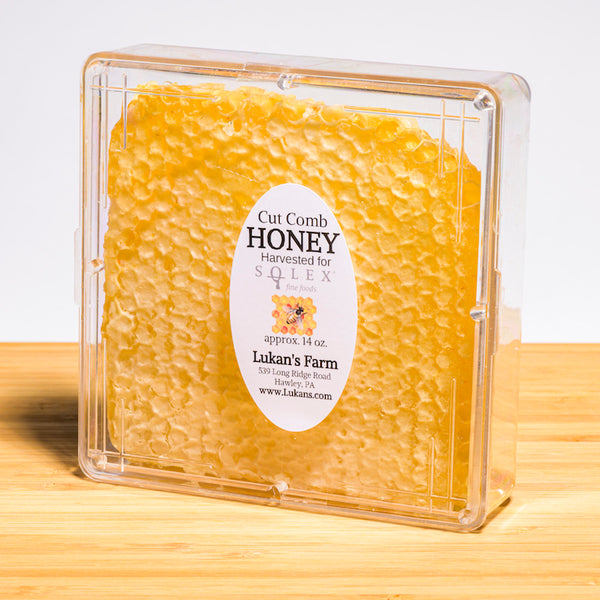 Lukan's Honeycomb, local honey, raw honey