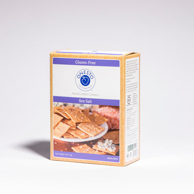Onesto's Sea Salt Crackers, buy gluten free crackers online