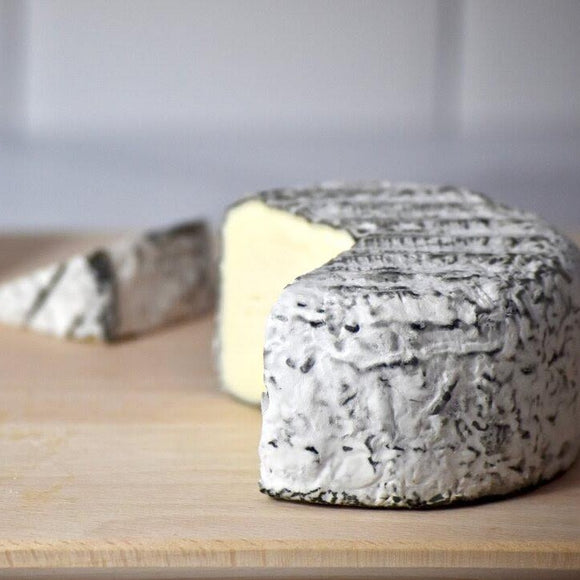 Sherry Gray - a double cream ash-ripened cheese from Jasper Hill Farm