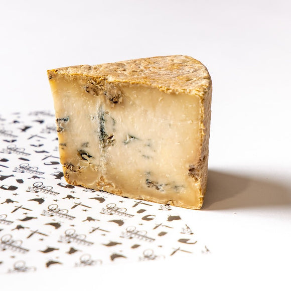 Valdes Blue - a raw goat's milk blue cheese from Barn First Creamery